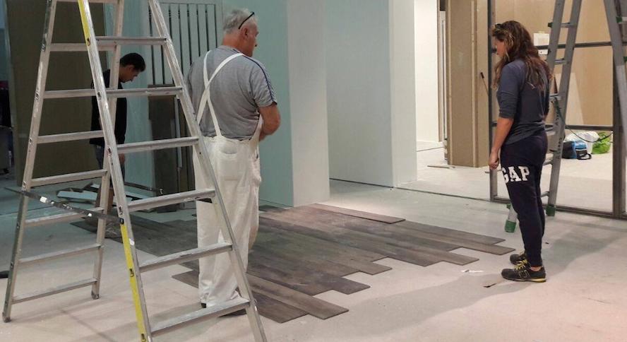 tiling installation